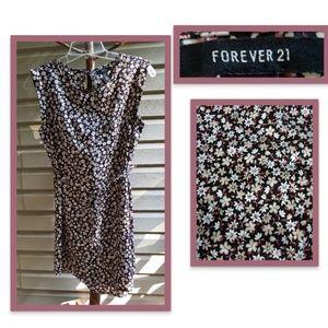 Sale!! Forever 21 Floral Midi Dress